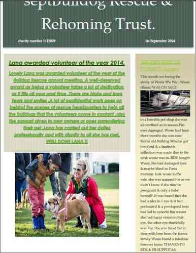 NEWSLETTER 2 - September 2014