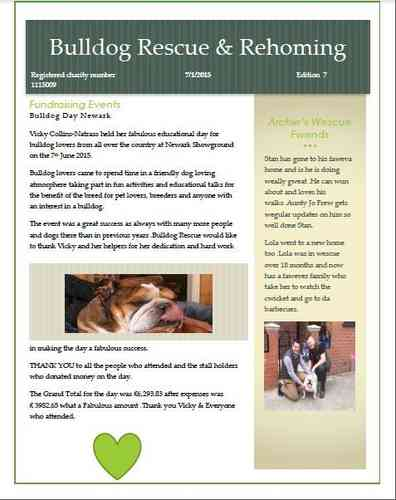 NEWSLETTER: July 2015 Issue 7