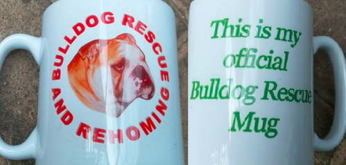 BULLDOG RESCUE MUG